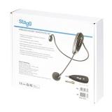 STAGG SUW 12H-BK - nagłowny system bezprzewodowy