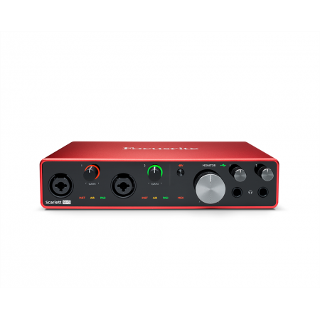 FOCUSRITE Scarlett 8i6 3rd Gen - interfejs audio