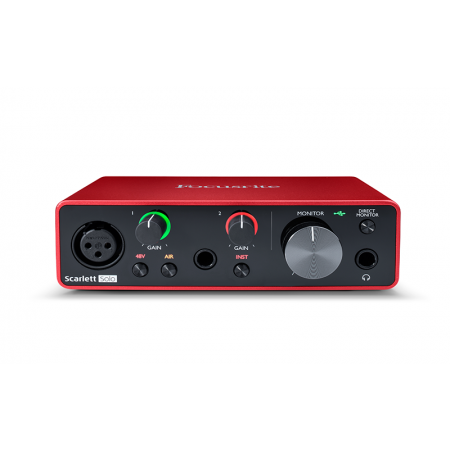 FOCUSRITE Scarlett Solo 3rd Gen - interfejs audio USB